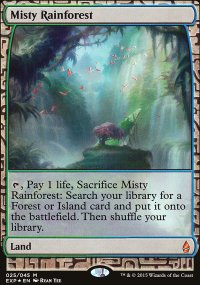 Misty Rainforest - Zendikar Expeditions