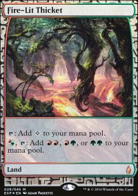 Fire-Lit Thicket - Zendikar Expeditions