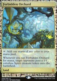 Forbidden Orchard - Zendikar Expeditions