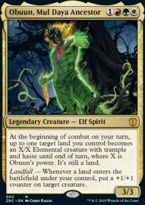 Obuun, Mul Daya Ancestor 1 - Zendikar Rising Commander Decks