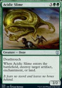 Acidic Slime - Zendikar Rising Commander Decks