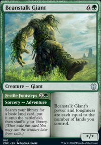 Beanstalk Giant - Zendikar Rising Commander Decks