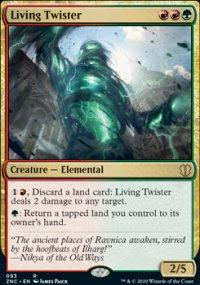 Living Twister - Zendikar Rising Commander Decks