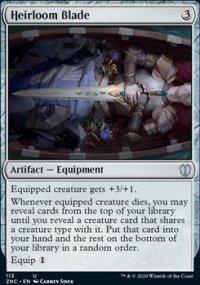 Heirloom Blade - Zendikar Rising Commander Decks