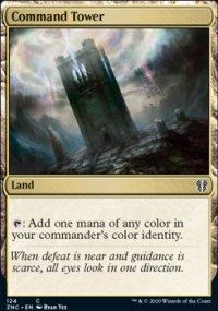 Command Tower - Zendikar Rising Commander Decks