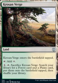 Krosan Verge - Zendikar Rising Commander Decks