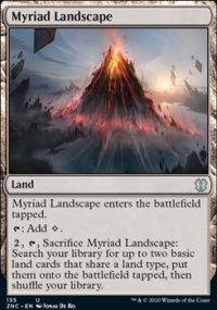 Myriad Landscape - Zendikar Rising Commander Decks