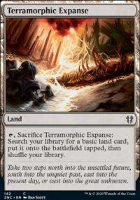 Terramorphic Expanse - Zendikar Rising Commander Decks