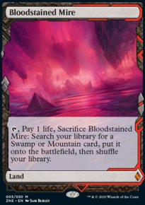 Bloodstained Mire - Zendikar Rising Expeditions
