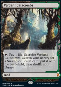 Verdant Catacombs - Zendikar Rising Expeditions
