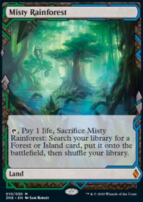 Misty Rainforest - Zendikar Rising Expeditions