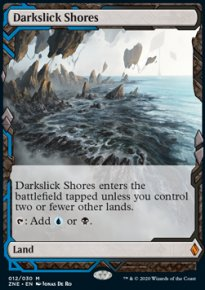 Darkslick Shores - Zendikar Rising Expeditions