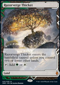 Razorverge Thicket - Zendikar Rising Expeditions