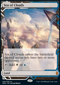 Sea of Clouds - Zendikar Rising Expeditions