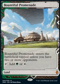 Bountiful Promenade - Zendikar Rising Expeditions