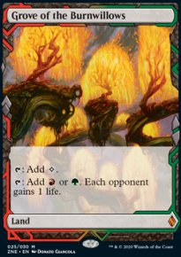 Grove of the Burnwillows - Zendikar Rising Expeditions