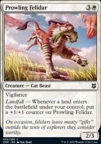 Prowling Felidar 1 - Zendikar Rising