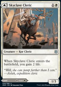 Skyclave Cleric -