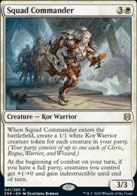 Squad Commander 1 - Zendikar Rising