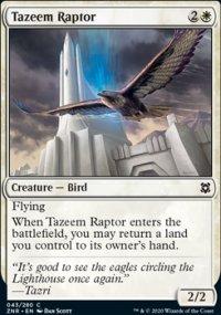 Tazeem Raptor - Zendikar Rising