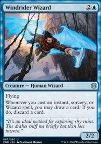 Windrider Wizard - Zendikar Rising