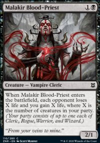 Malakir Blood-Priest - Zendikar Rising