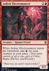 Ardent Electromancer -