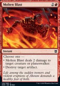 Molten Blast - Zendikar Rising
