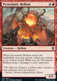 Pyroclastic Hellion - Zendikar Rising