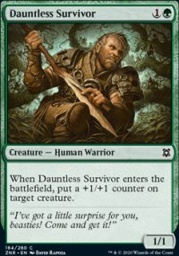 Dauntless Survivor - Zendikar Rising