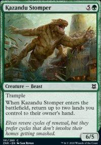 Kazandu Stomper - Zendikar Rising
