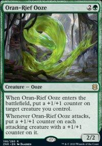 Oran-Rief Ooze 1 - Zendikar Rising