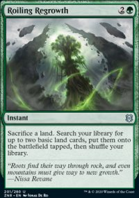 Roiling Regrowth 1 - Zendikar Rising