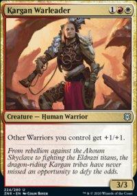 Kargan Warleader 1 - Zendikar Rising