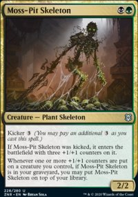 Moss-Pit Skeleton - Zendikar Rising