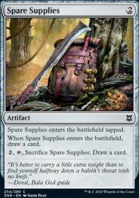 Spare Supplies -