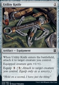 Utility Knife - Zendikar Rising