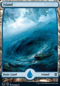 Island 3 - Zendikar Rising
