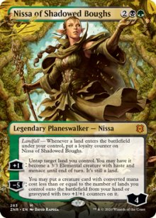 Nissa of Shadowed Boughs 2 - Zendikar Rising