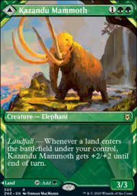 Kazandu Mammoth 2 - Zendikar Rising
