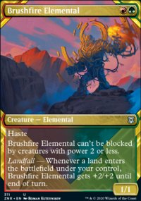 Brushfire Elemental 2 - Zendikar Rising