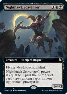 Nighthawk Scavenger 2 - Zendikar Rising