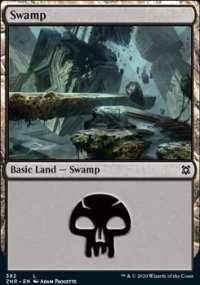 Swamp 4 - Zendikar Rising