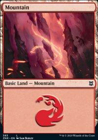 Mountain 4 - Zendikar Rising