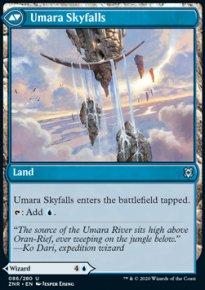 Umara Skyfalls - Zendikar Rising