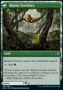 Khalni Territory - Zendikar Rising