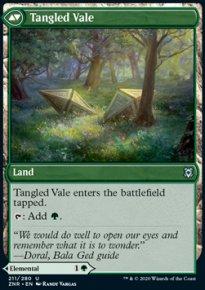 Tangled Vale - Zendikar Rising