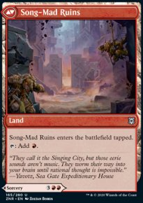 Song-Mad Ruins - Zendikar Rising