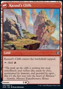 Kazuul's Cliffs  - Zendikar Rising