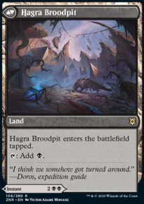 Hagra Broodpit - Zendikar Rising